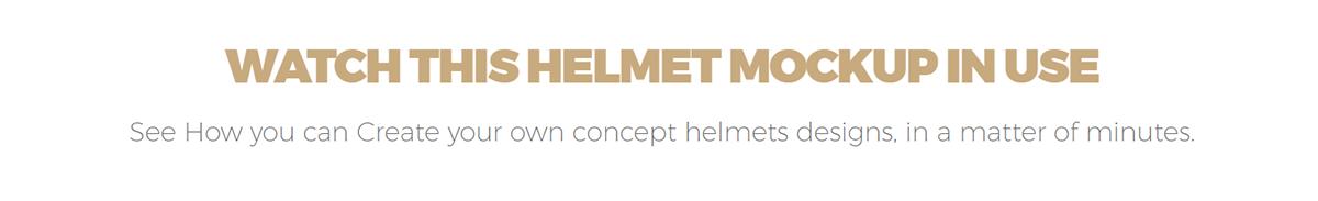 free psd football helmet mockup on wacom gallery
