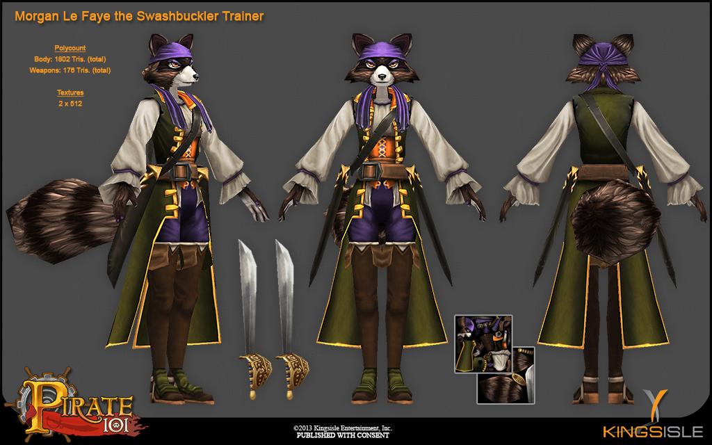 KingsIsle Entertainment: Pirate 101 on Behance