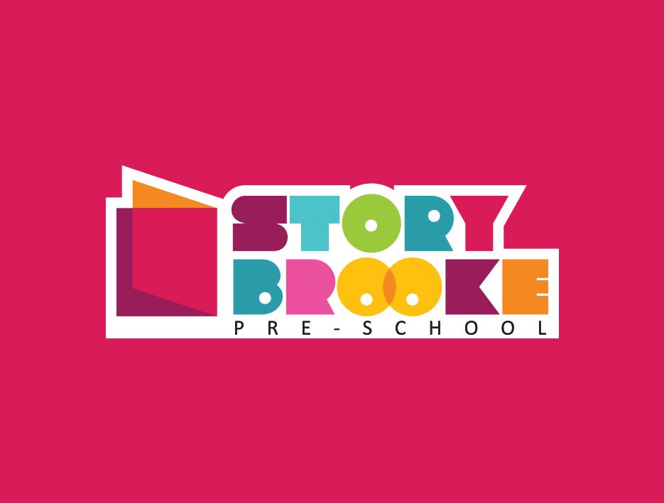 storybrooke Preschool kids children logo colorful