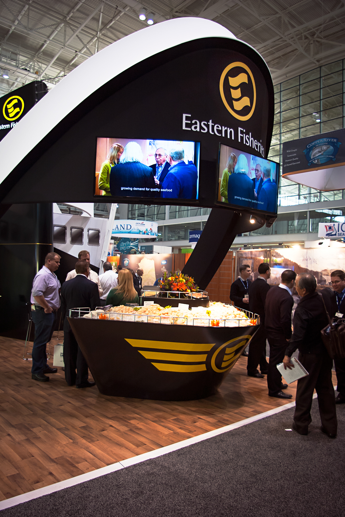 Eastern Fisheries Exhibit Booth On Behance