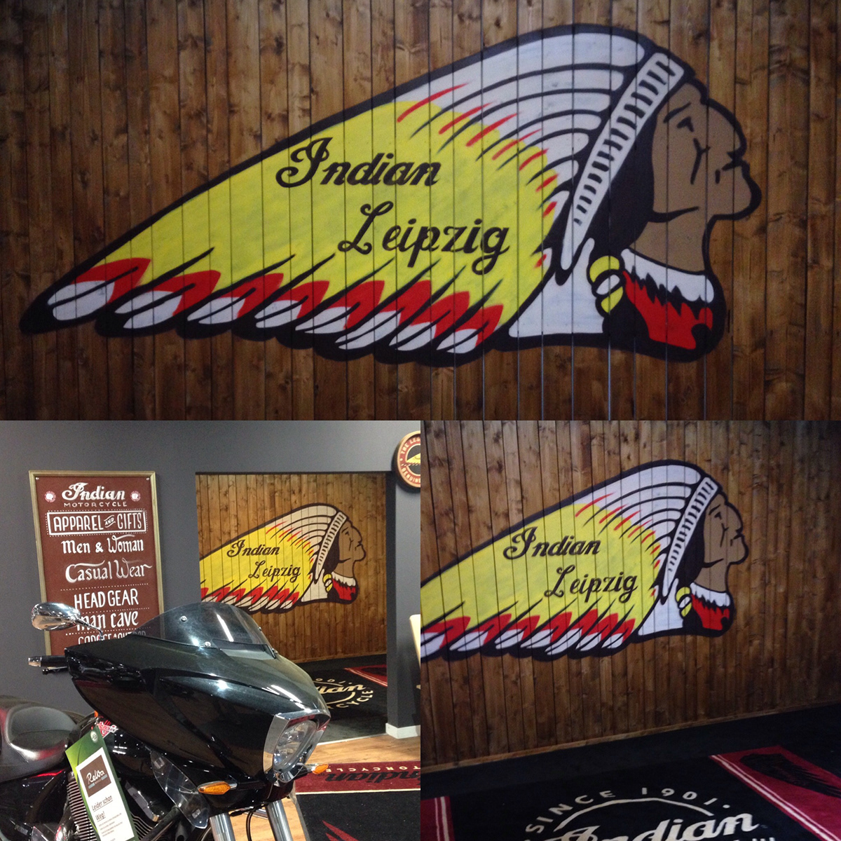Indian Motorcycle branding  poster muralpainting retrodesign vintage graphicdesign lettering