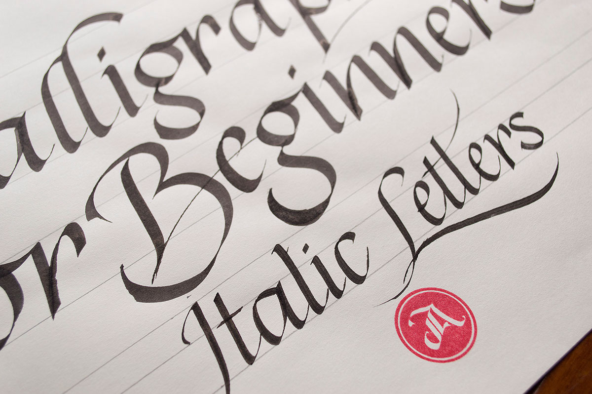 Online Calligraphy Class 2 The Elegance Of Italics On Behance