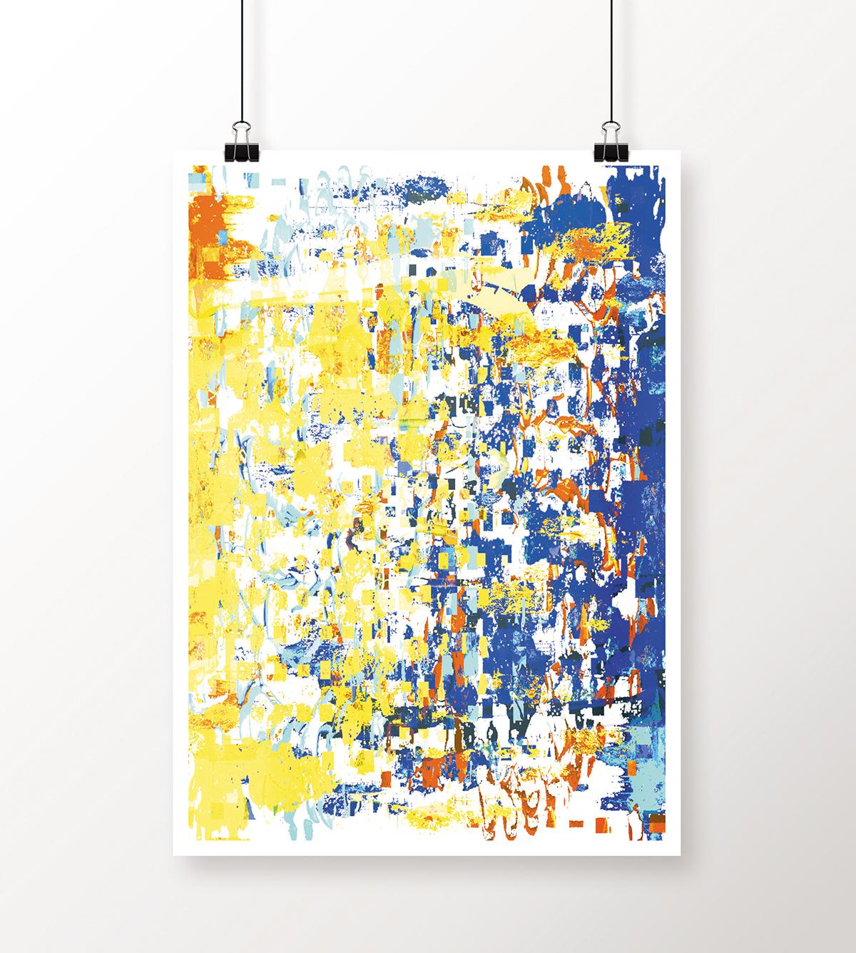 poster abstract digital