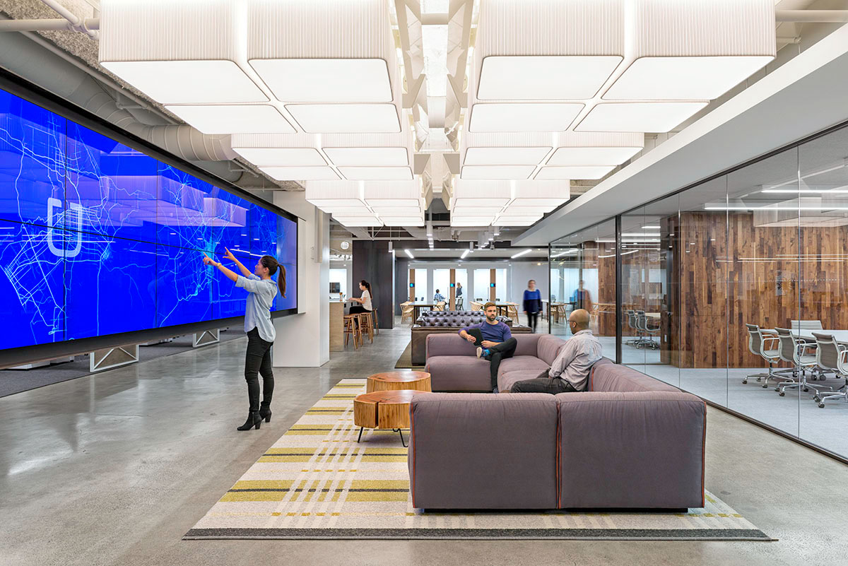 Inside Uber San Francisco Headquarters
