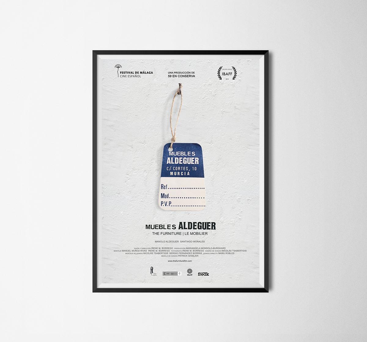 Adobe Portfolio 59enConserva poster cartel festivalmalaga ibaff cineespañol film director
