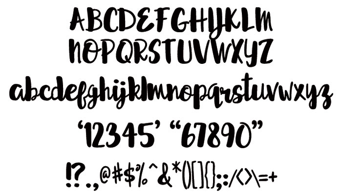 free Free font Typeface handwriting Script cursive connect free typeface