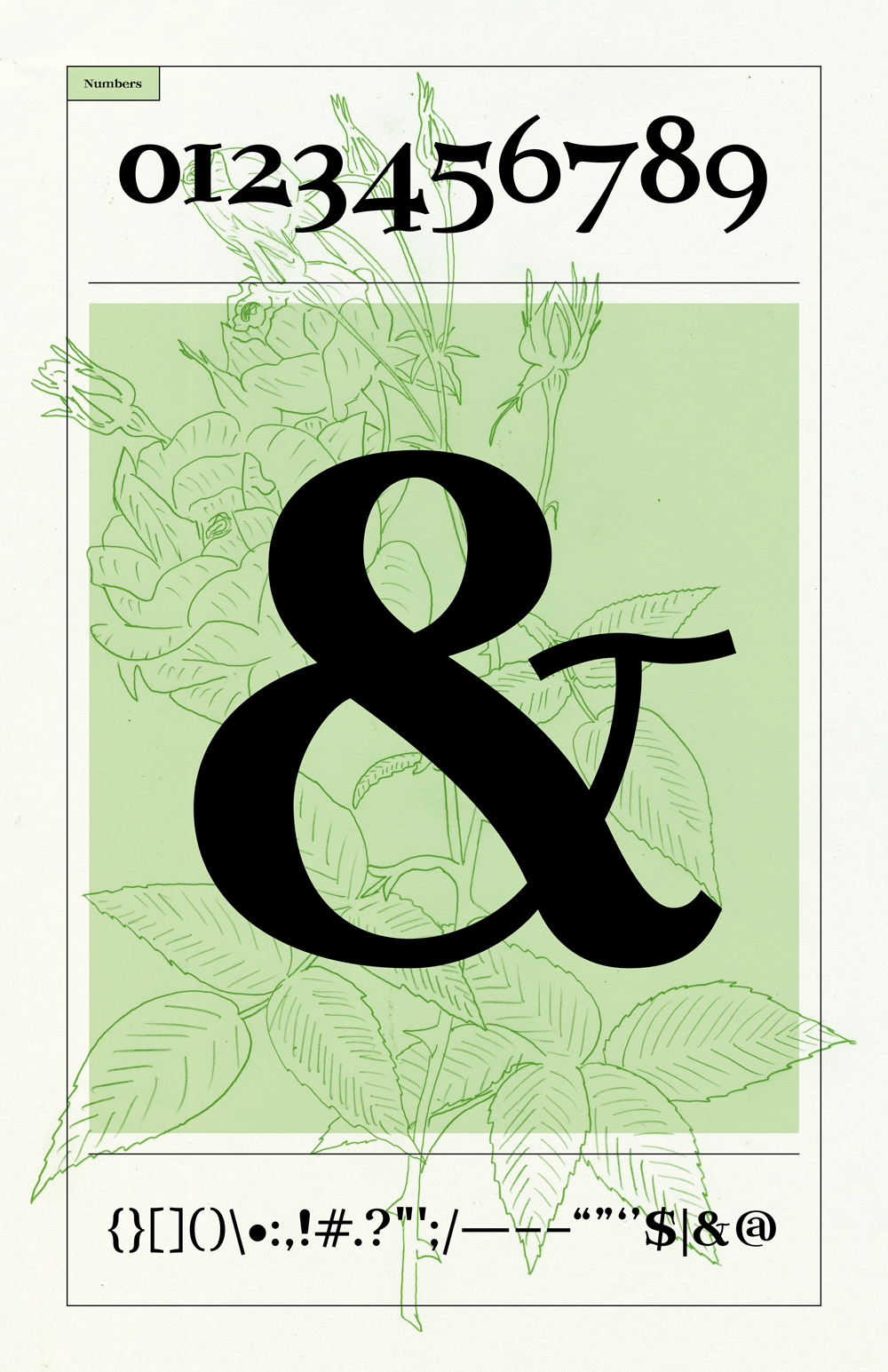 Adobe Portfolio elder type font free kenji enos kenjiboy