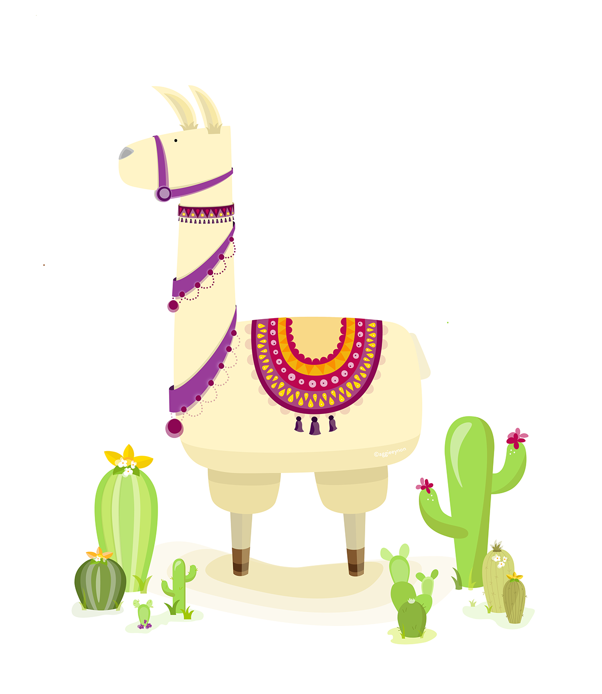 mexican llama on behance explorers clip art free explorer clipart