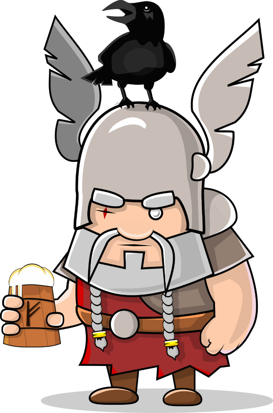 boardgame card cards cardgame Circus game nordic Norse Odin valhalla