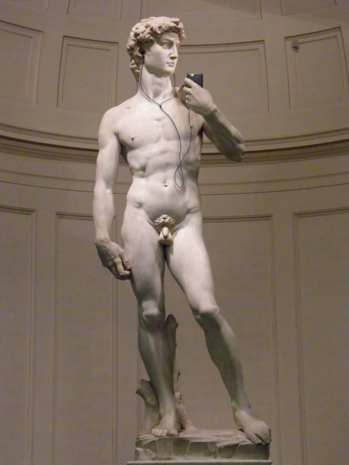art headphone dali frida ILLUSTRATION  photoshop Da Vinci Michelangelo van gogh munch