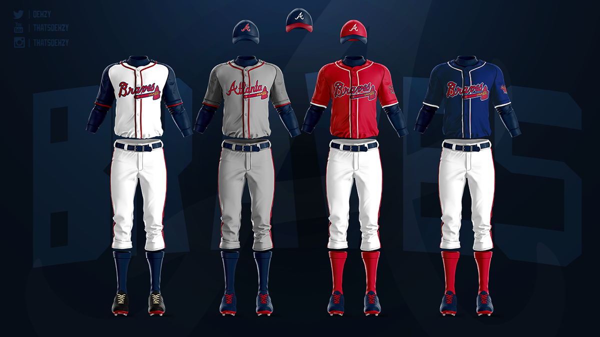 size 40 2f1cc 278bf MLB Jerseys Redesigned on Behance