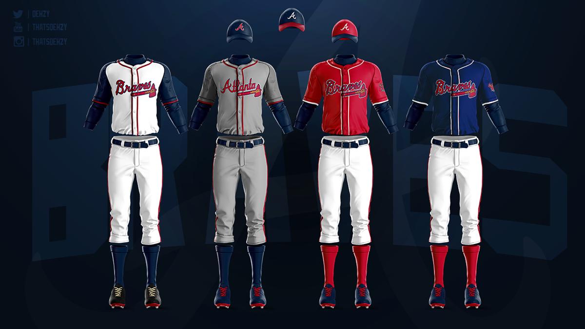 size 40 1e240 f46e0 MLB Jerseys Redesigned on Behance
