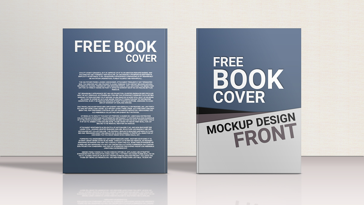 Book Cover Designing Free ~ Free book cover mockup design on behance