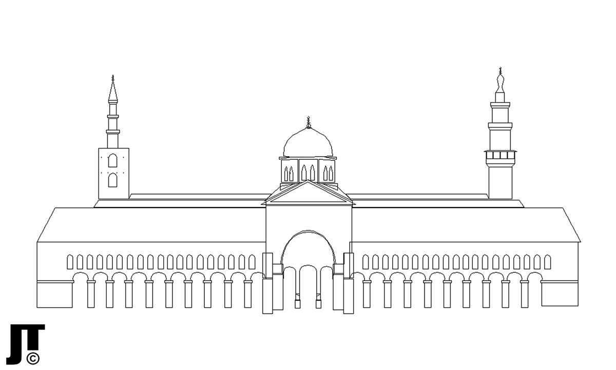 Umayyad Mosque (الجامع الأموي) on Behance