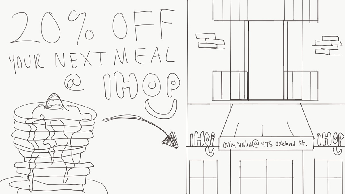 IHOP Coupon Design on Behance