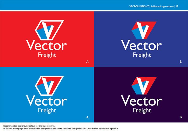 transportation brand identity industrial