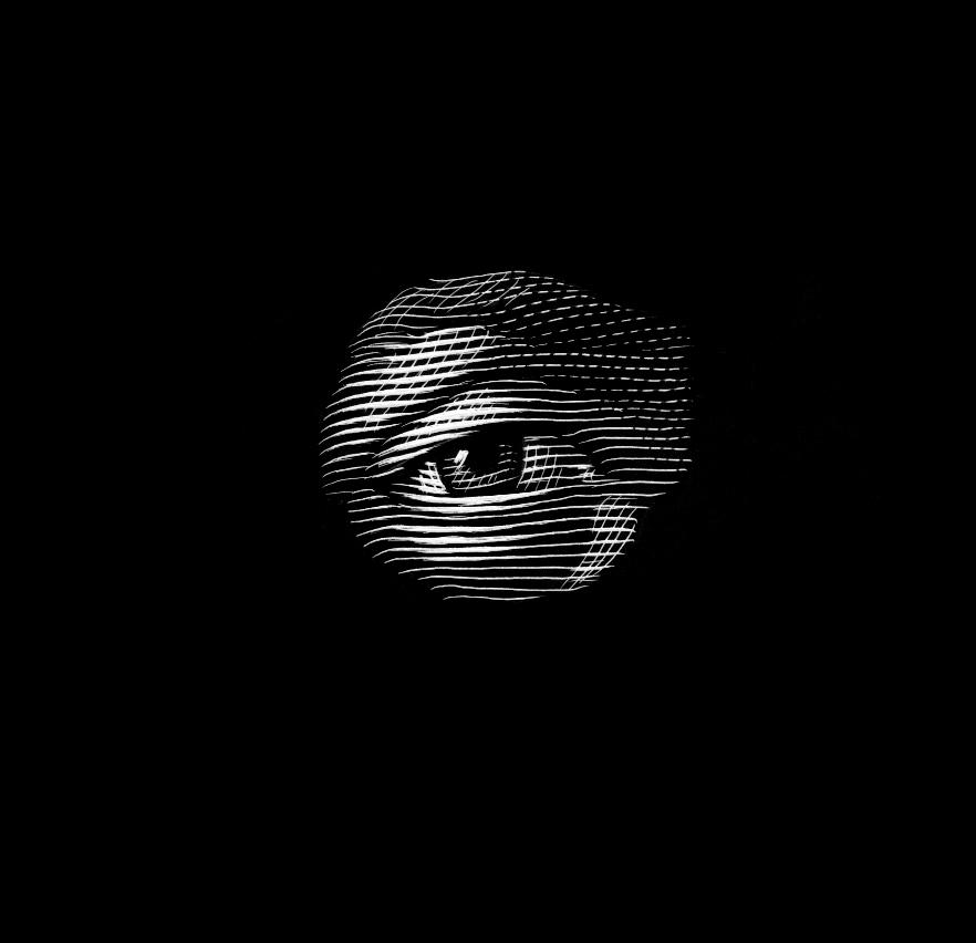 eye demo scratchboard