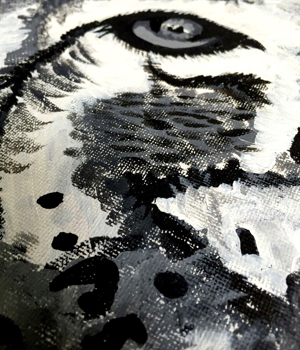acrylic canvas crafts   paint
