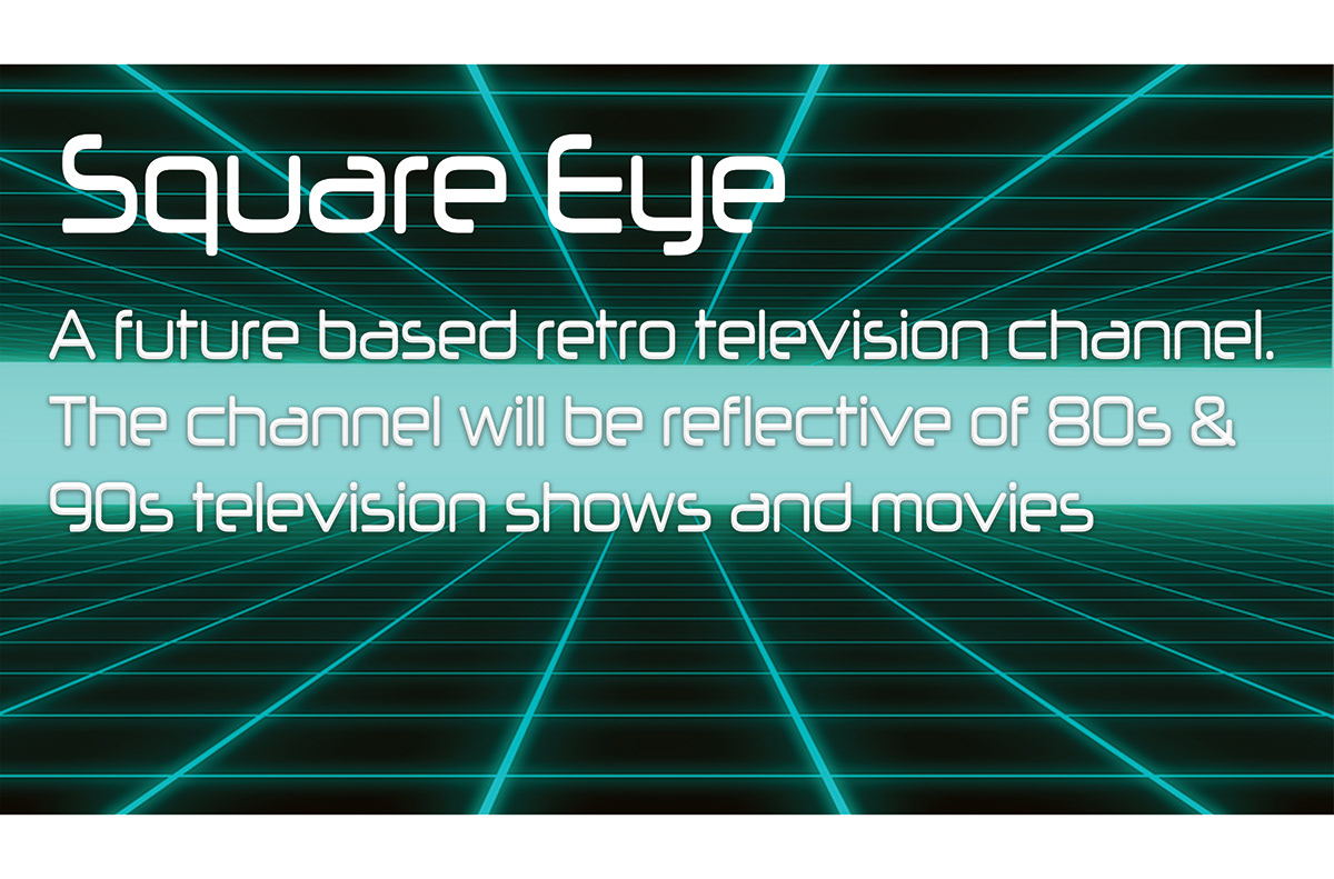 Square Eye Motion Graphic on Student Show