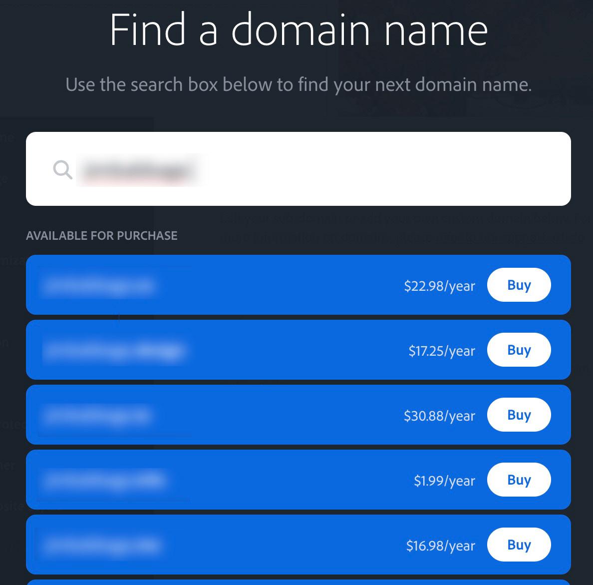 Using a Custom Domain Name in Adobe Portfolio on Behance