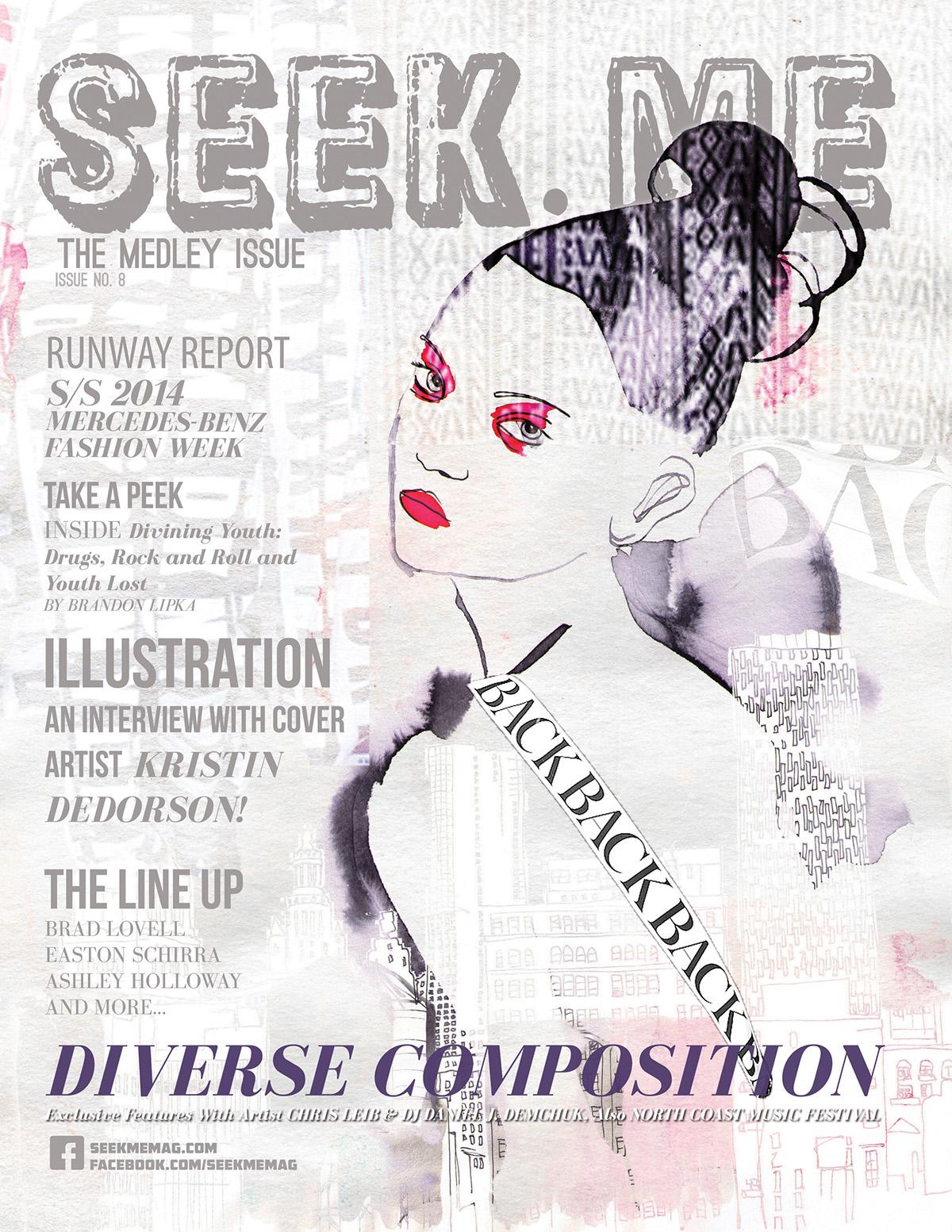 fashion illustration,Drawing ,painting  ,ink,watercolor,editorial,runway,art prints,DKNY,Alexander wang