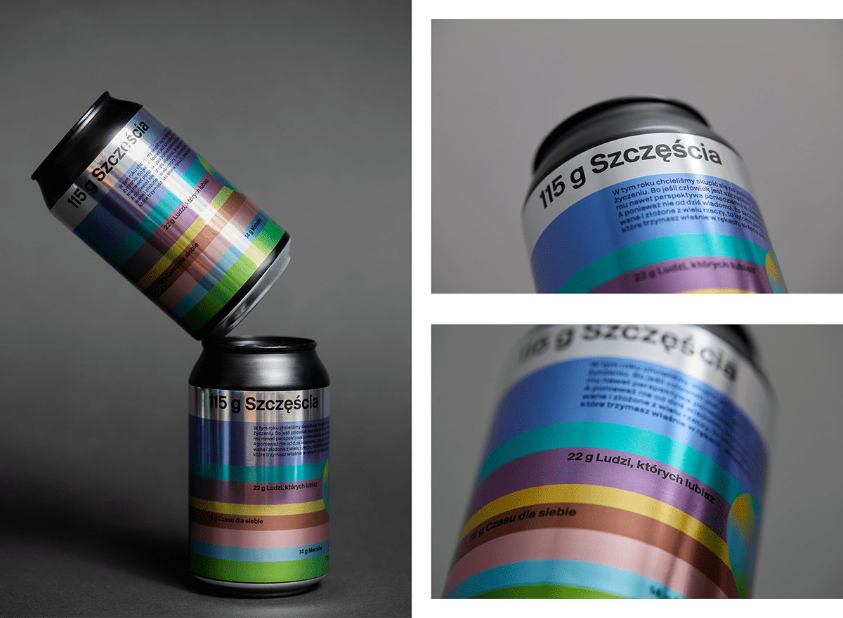 branding  can Coffee colors design graphic Packaging print