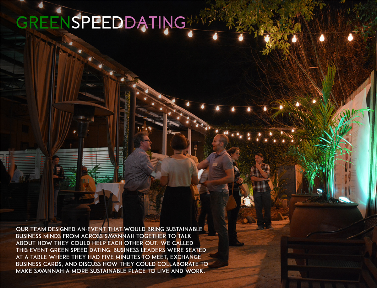 green speed dating
