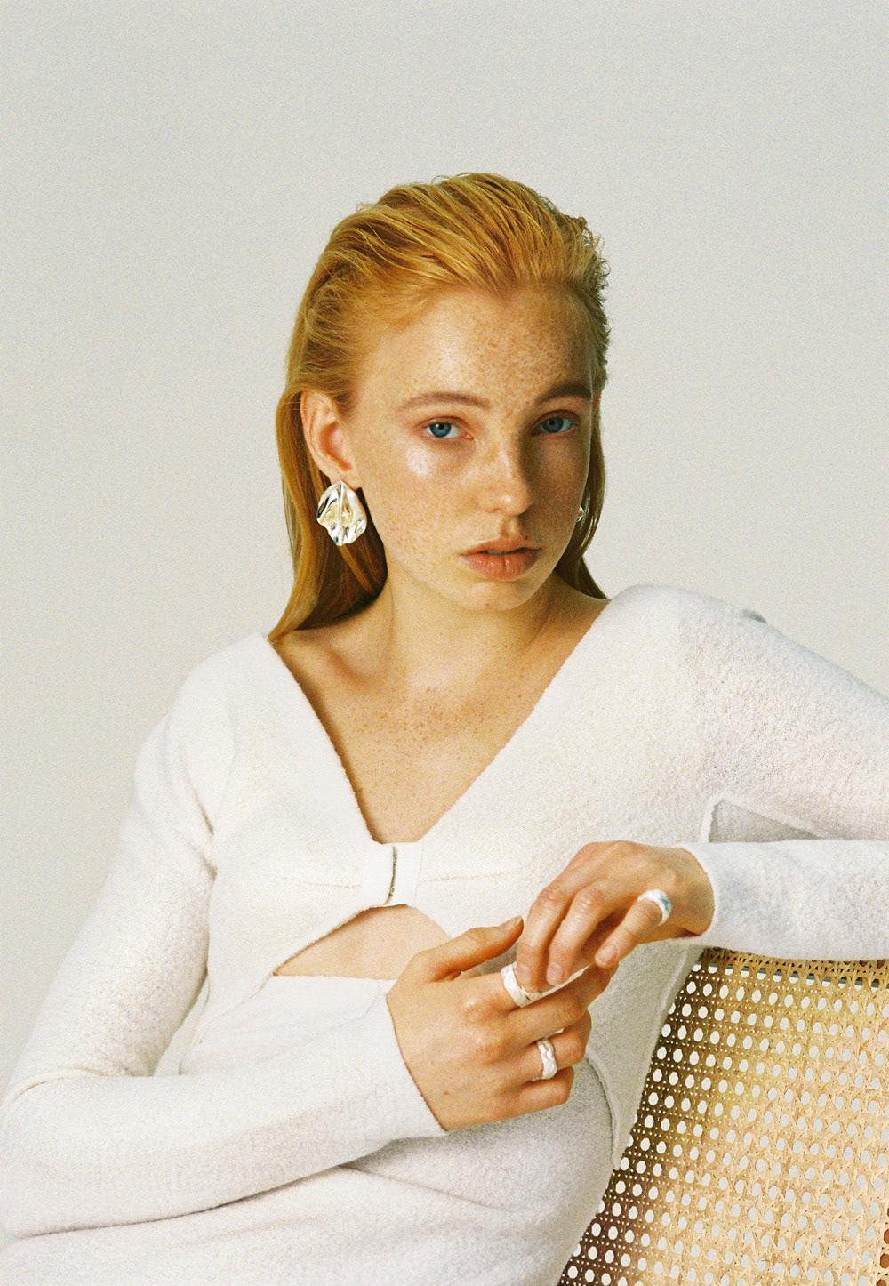 analog bildbehandling Film   hand made jewellry portrait Post Production RECYCLED retouch studio