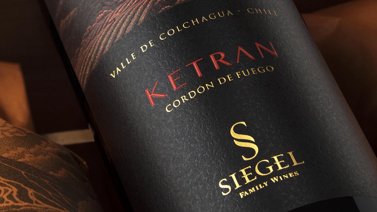 Presentación del vino KETRAN, Cordón de Fuego