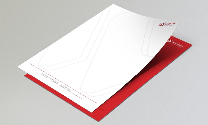 logo business card letterhead presentation brochure