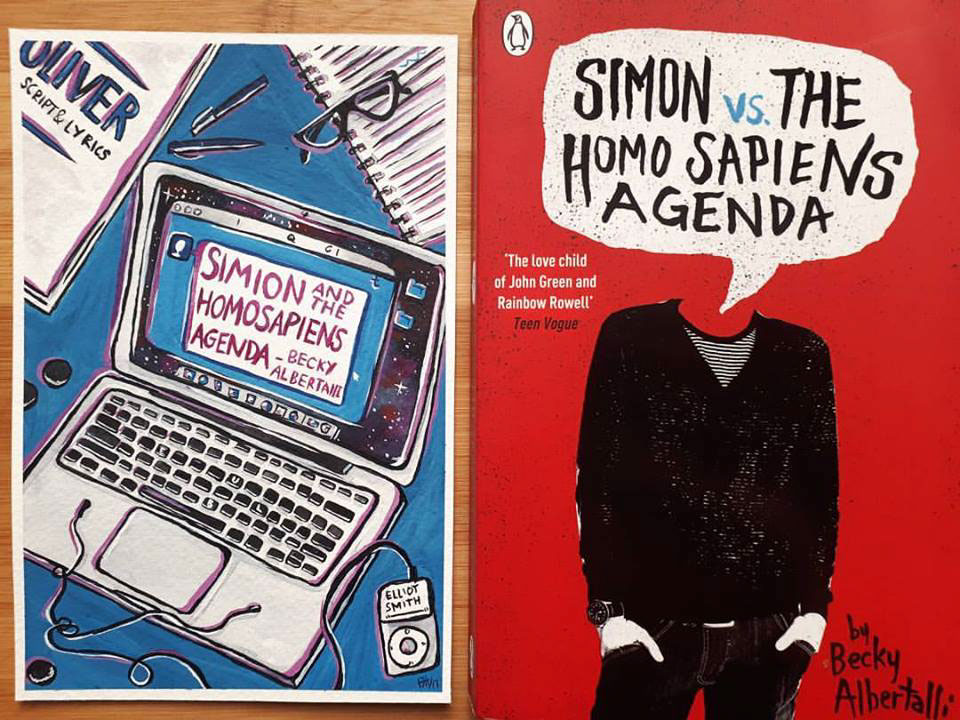 Simon And Vs The Homosapiens Agenda Book Cover On Behance