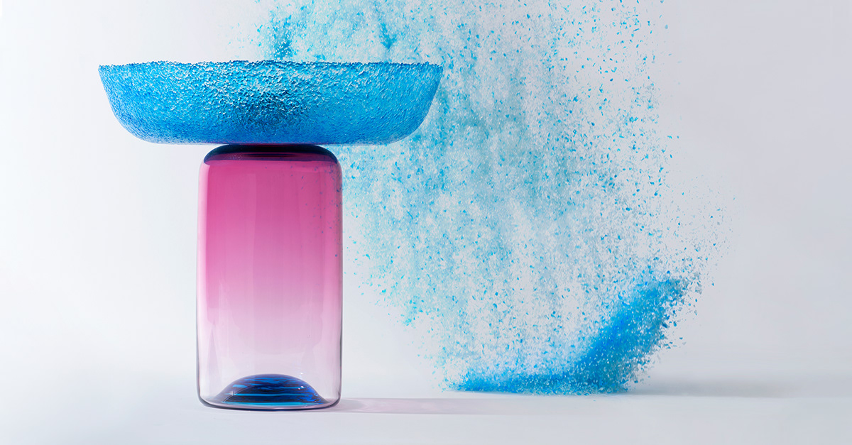 art direction  colour design for manufacture glasswork industrial design  material and finishes