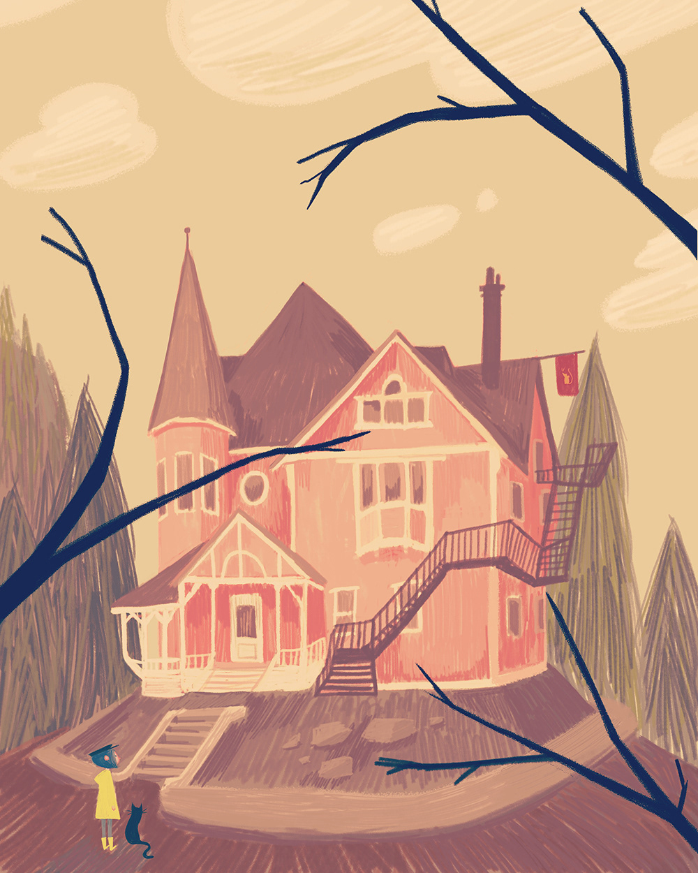 The Pink Palace On Behance