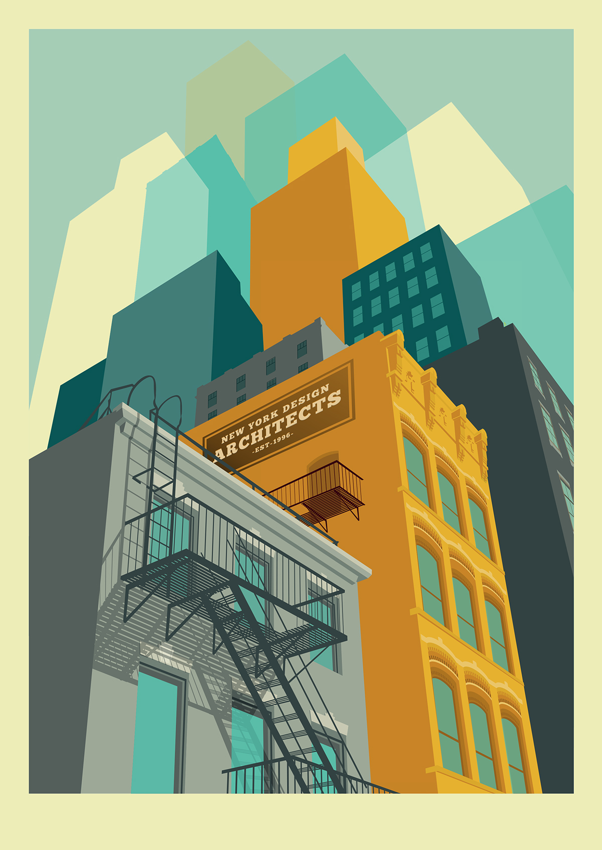 Célèbre New York illustrations on Behance SD82