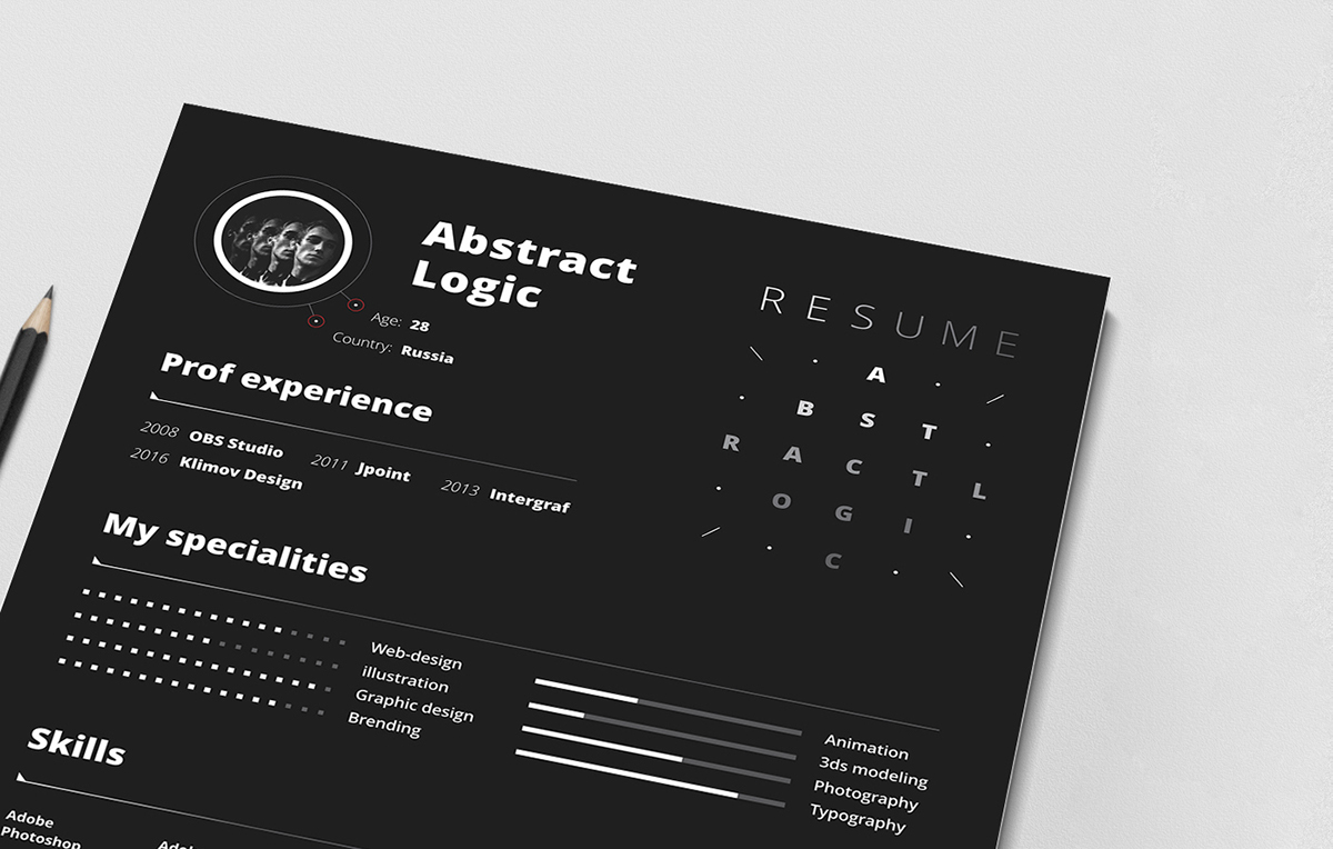 Free Resume Template – Totally Free Resume Template