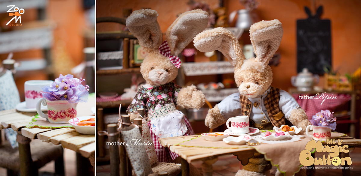 #animation #stop-motion #children series #rabbits #character #character design #tv #cute  #film