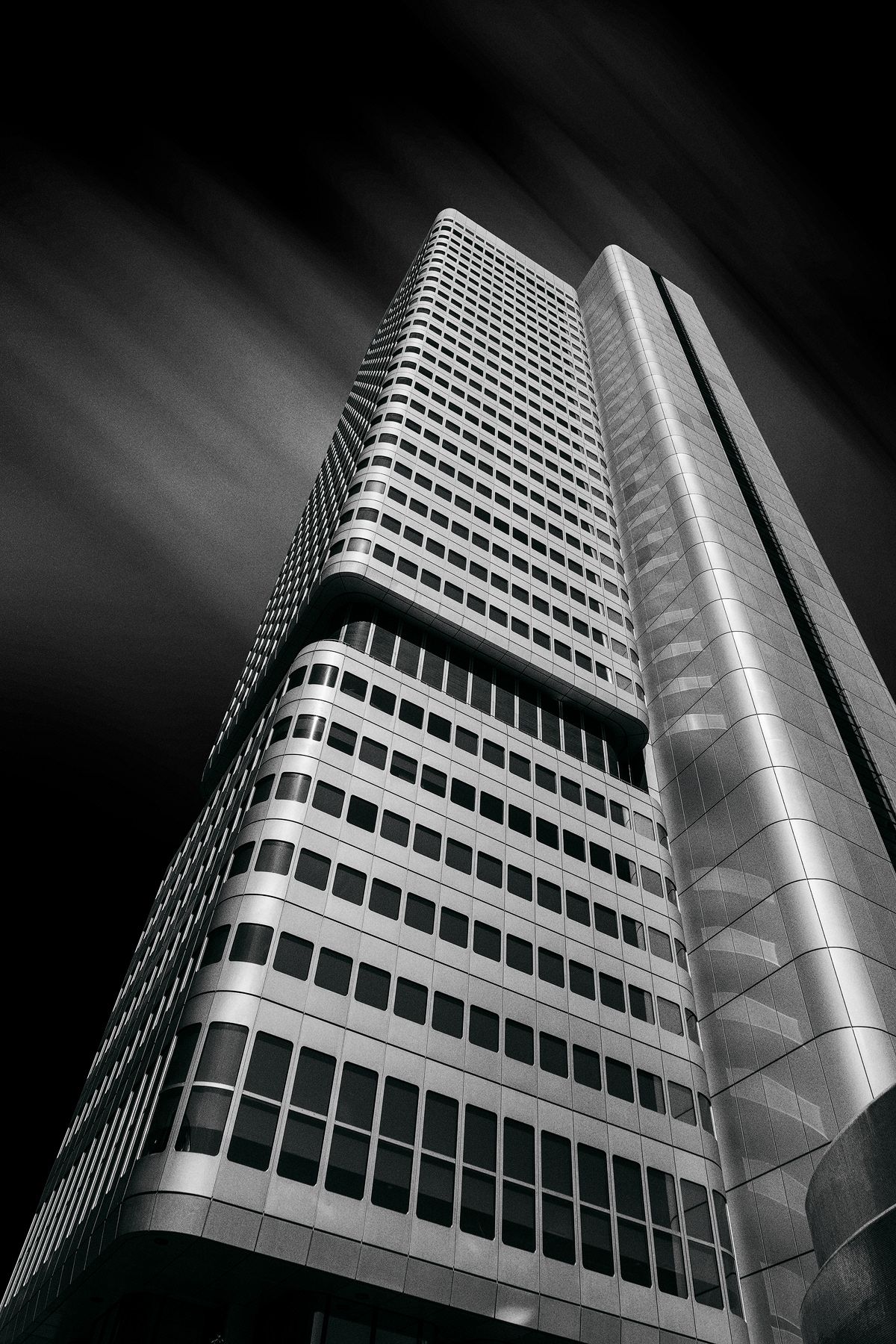 long exposure black and white Photography  architecture fine art