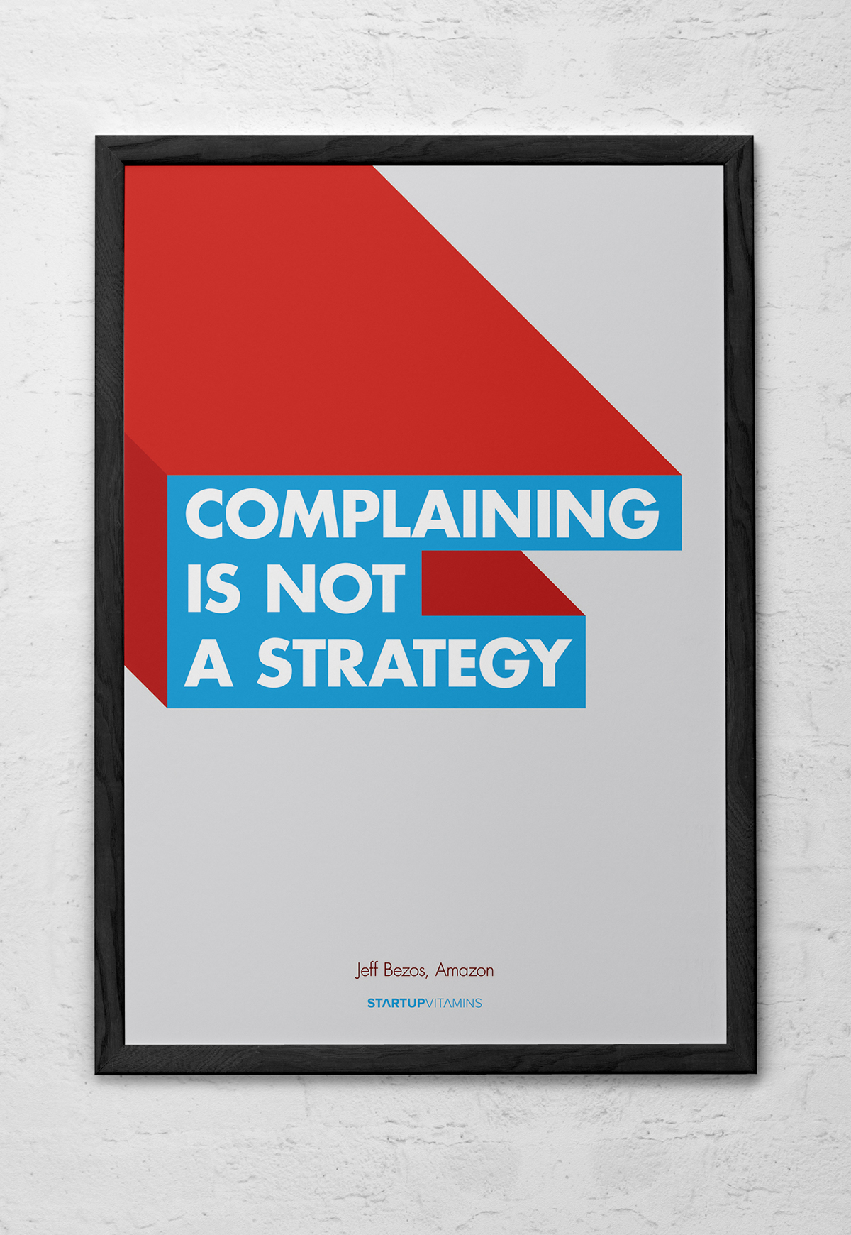 startupvitamins posters on behance