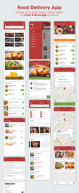 5Stars - Mobile UI KIT for Food & Beverage App Ecosystem - 3