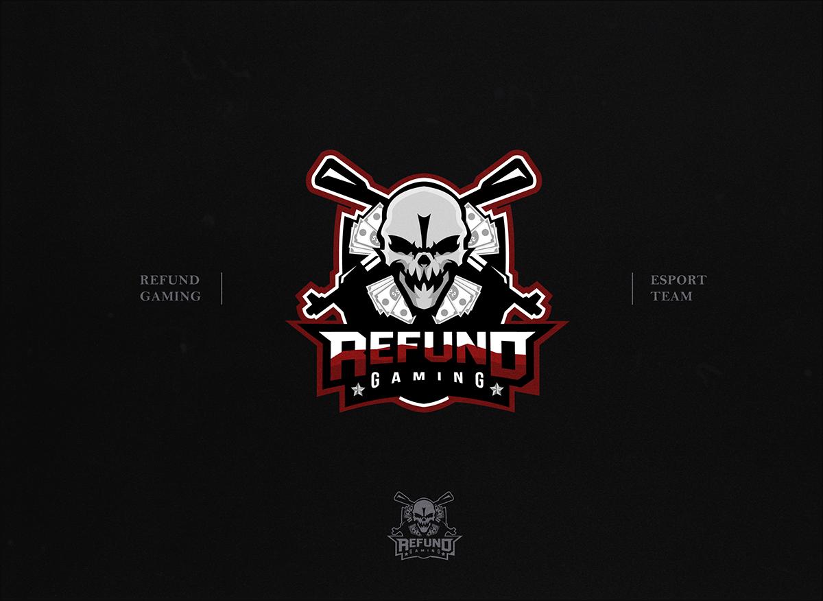 Refund Gaming Playerunknown S Battlegrounds Team Logo On Behance