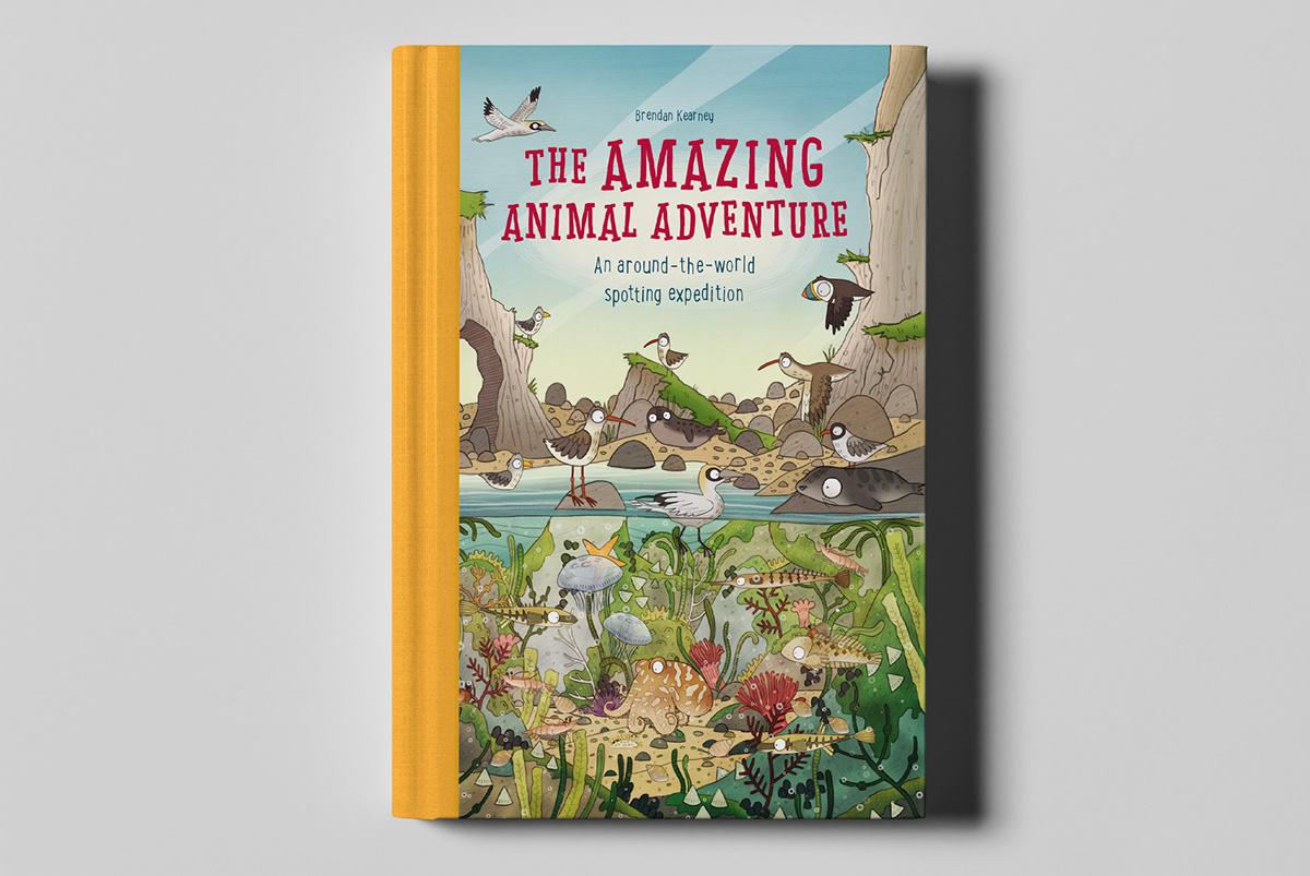 Adobe Portfolio Children's Books book design