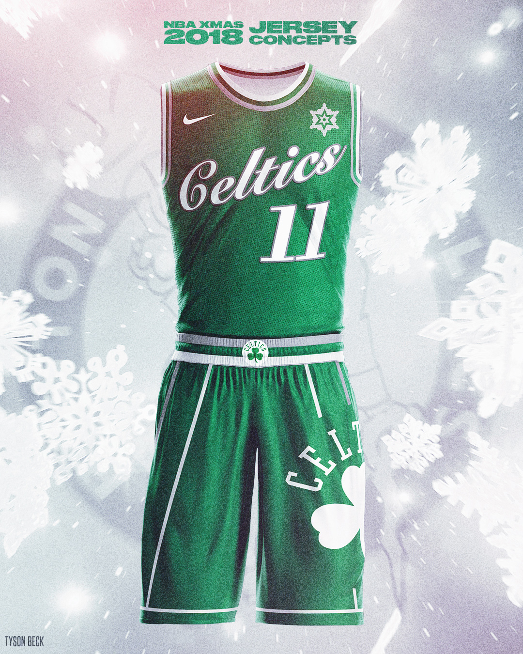 newest 9b1ad db600 NBA x NIKE 2018 Christmas Day - Jersey Concepts on Behance