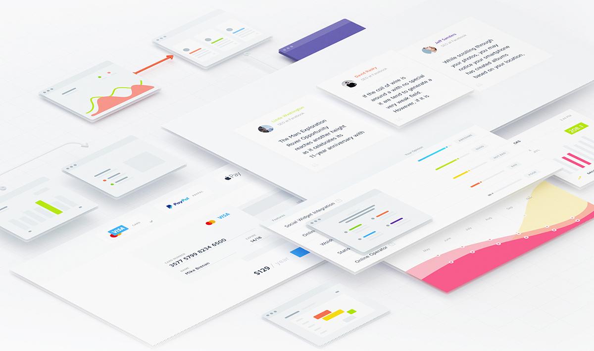 Semi Flat Design - Diseño Web Semi Plano