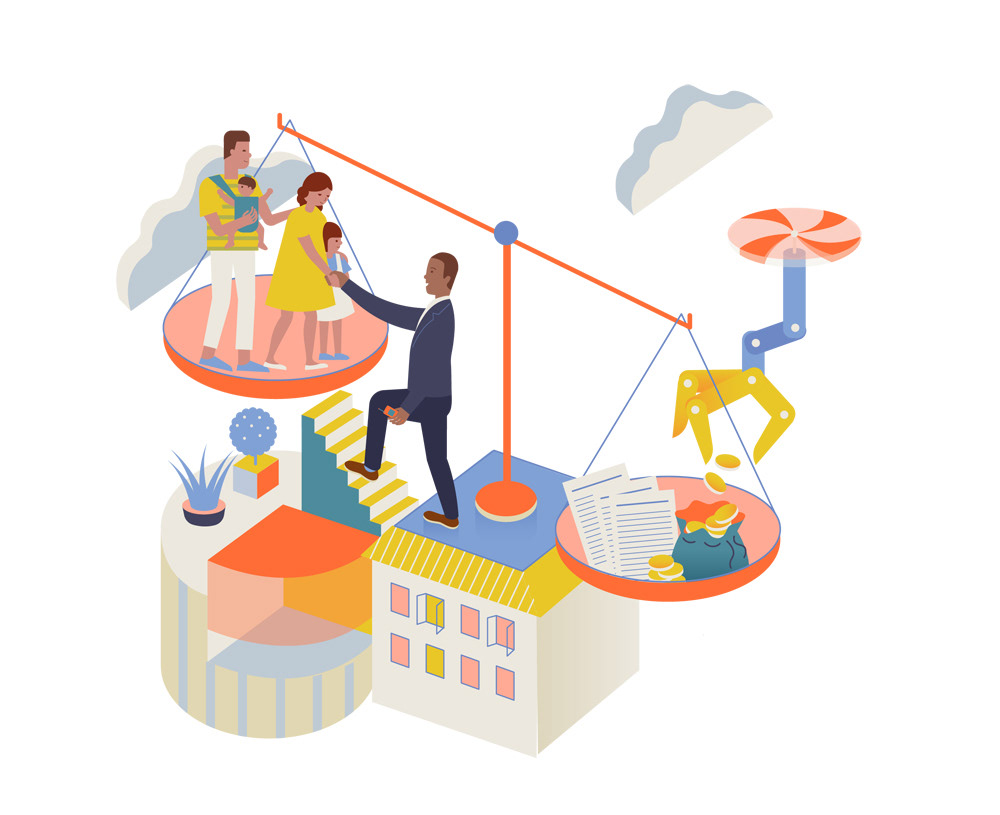 economic business community money ILLUSTRATION  Editorial Illustration oppotunity