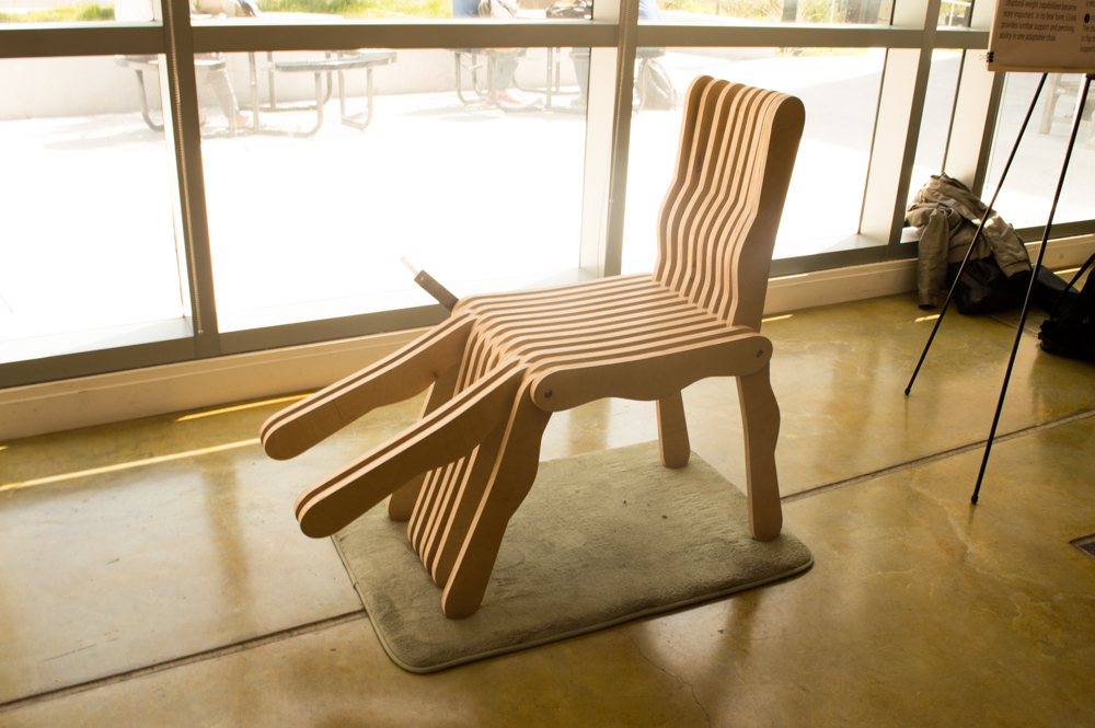 eary prototype of the chair