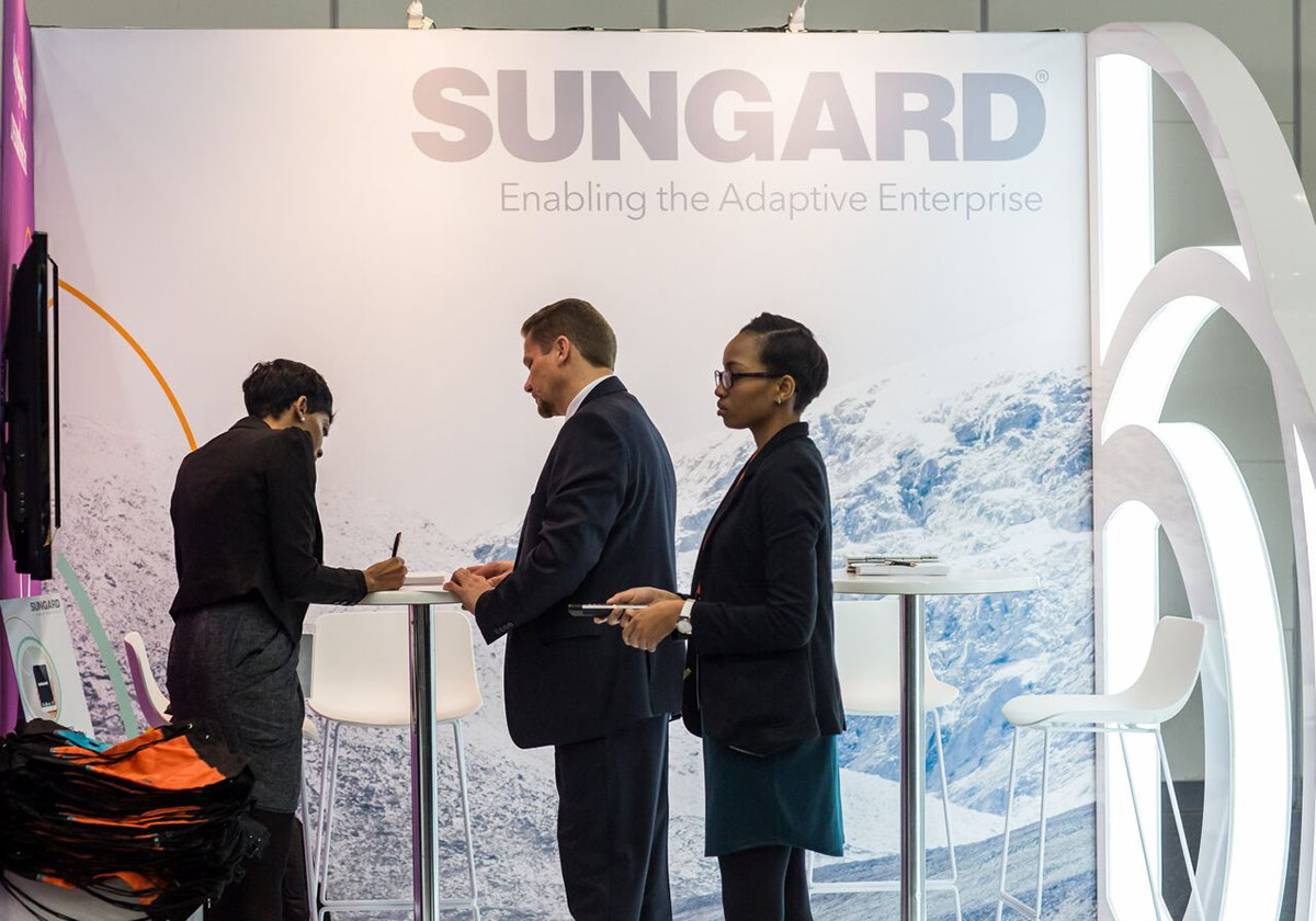 Sungard Exhibition Stand For : Sungard irfa at cticc xzibit on behance