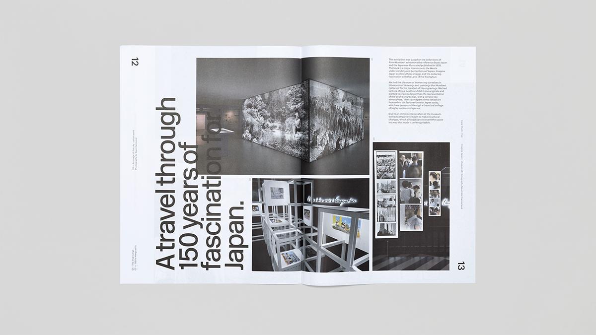 newspaper black and white asymmetric grid magazine mast head socio sociodesign Mashcreative