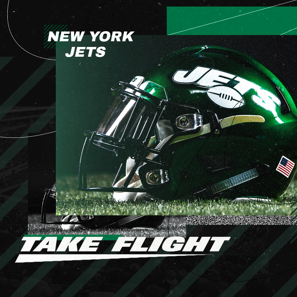 New York Jets 2020 New York Jets 2019 2020 Uniform Graphic (Personal) on Behance