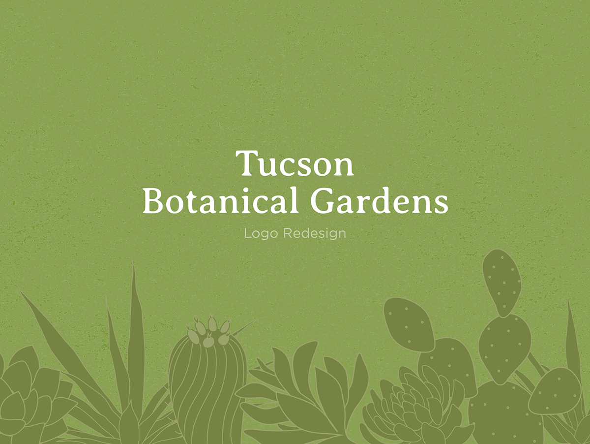 tucson botanical gardens logo newsletter on massart