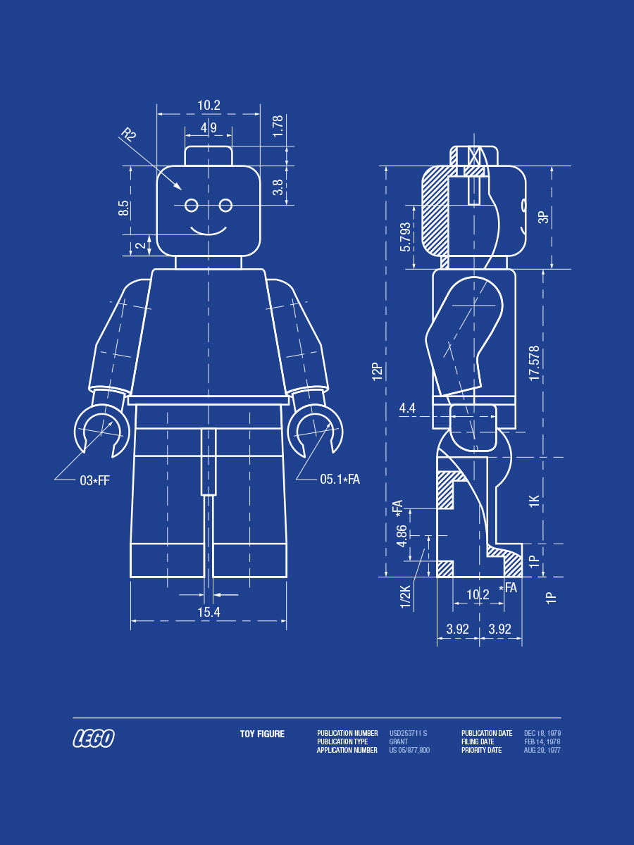 Lego patent vector on behance malvernweather Image collections